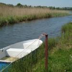 Łódka w kanale