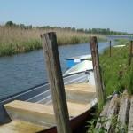 Łódki w kanale