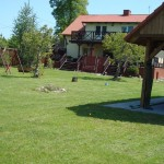 Ogród przy domach nr 1 i 2